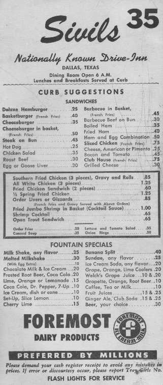 Sivils Menu from '50s.jpg